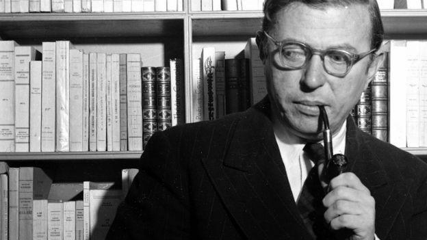 Jean-Paul Sartre, Autor von «Die Fliegen».