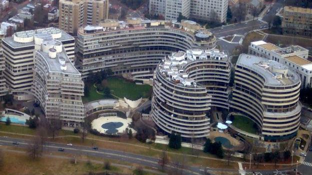Watergate-Gebäudekomplex in Washington.