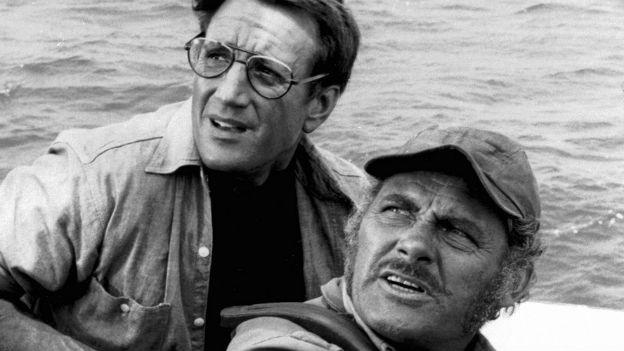 Szene aus dem Spielberg-Film «Jaws».