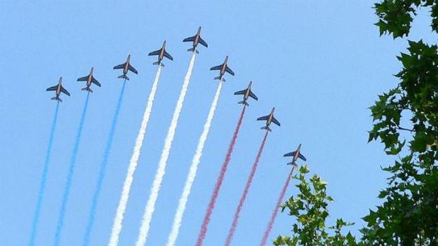 Frankreich feiert heute seinen Nationalfeiertag.