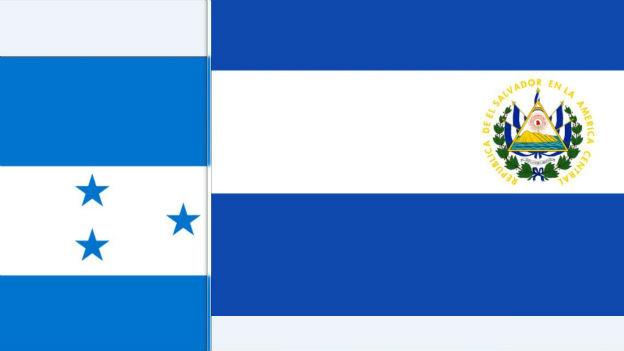 Fussballkrieg: Honduras gegen El Salvador.