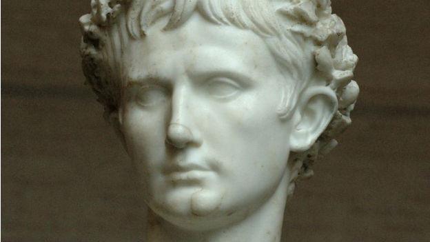 Augustus, Römischer Herrscher.