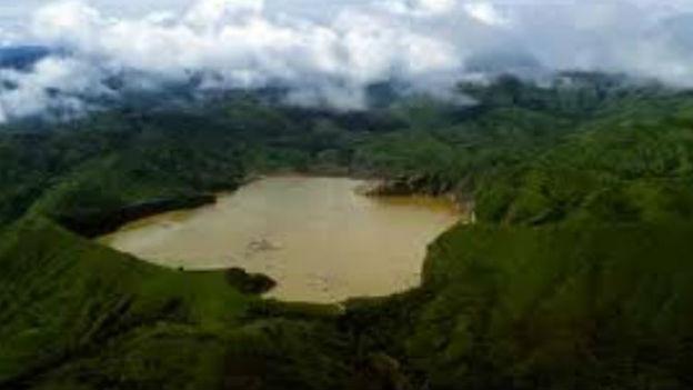 Nyos-See in Kamerun, Westafrika.
