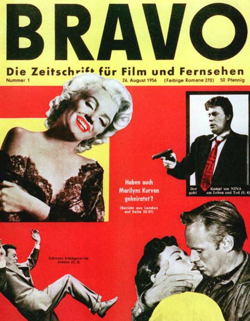 Das Cover der ersten «Bravo» vom 26. August 1956