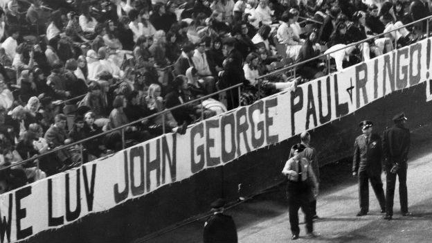 Fans am letzten Beatles-Konzert in San Francisco