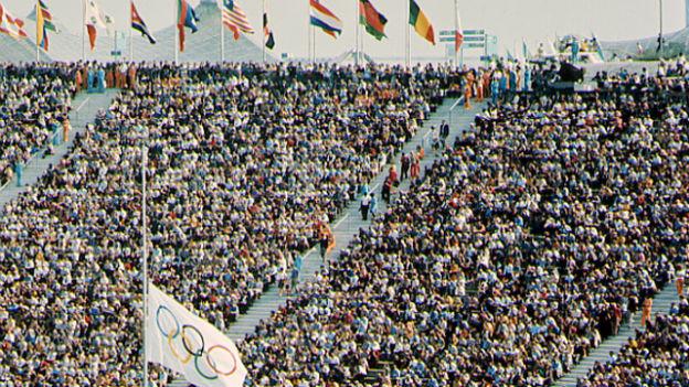 Die Olympischen Spiele 1972 in München waren überschattet von Terror