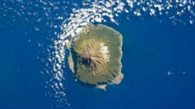 Insel Tristan da Cunha.