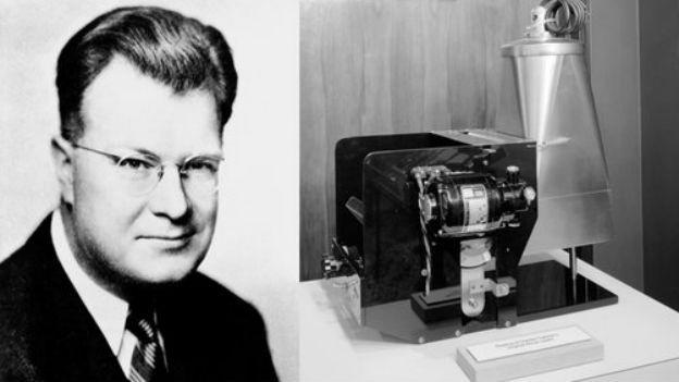 Chester Carlson und seine Erfindung.