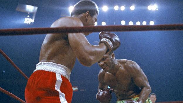Muhammed Ali gegen George Foreman