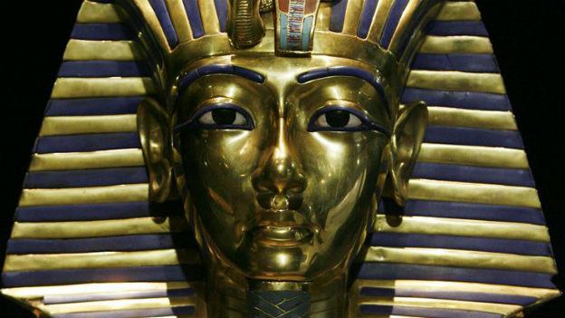 Ägyptischer Pharao Tutanchamun.