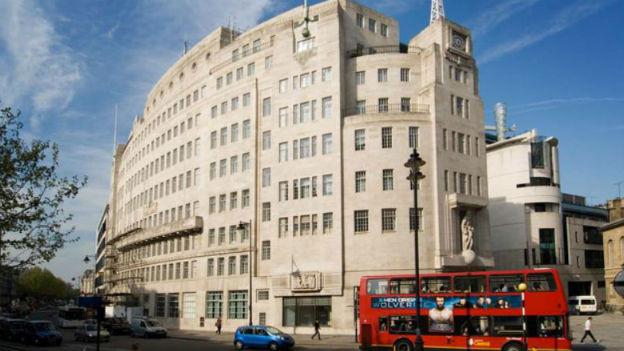 BBC Gebäude London.