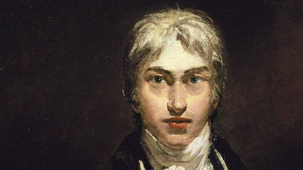 Selbstportrait des englischen Malers William Turner.