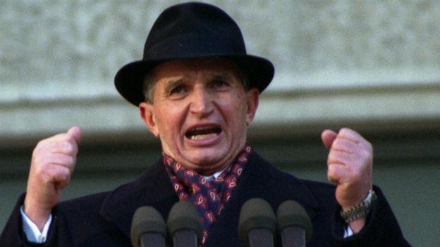 Der rumänische Diktator Nicolae Ceausescu.