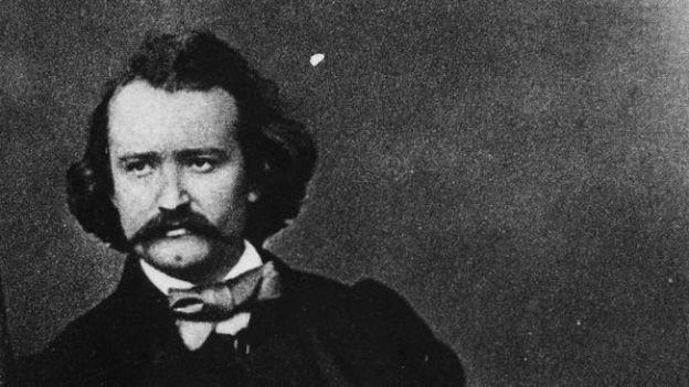 Portrait von Wilhelm Busch, der heute vor 107 Jahren starb