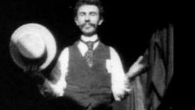 William Dickson, der Erfinder des Kinetographen.