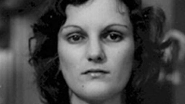 Die entführte Milliardärstochter Patricia Hearst.