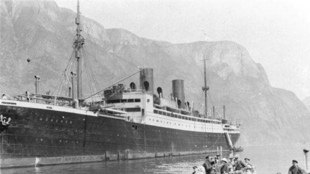 Er sank mit 4000 Passagieren: Der Dampfer «Steuben»