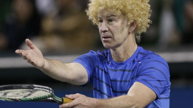 Tennis-Genie, unberechenbar: John McEnroe