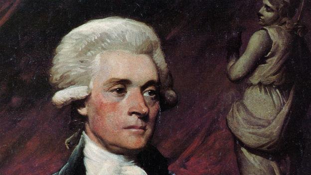 Thomas Jefferson, 1743 - 1826, dritter Präsident der USA