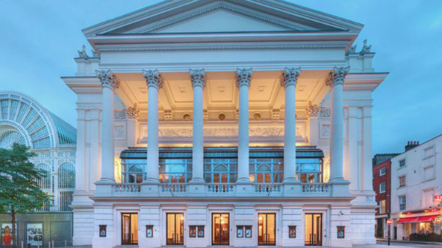 «The Royal Opera House» in London.