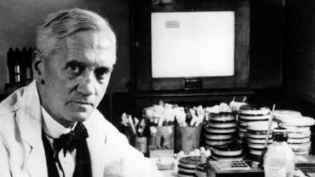 Alexander Fleming: Lebensretter dank Penicillin.