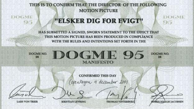 Filmer-Manifest «Dogma 95» für eine radikale Kinosprache