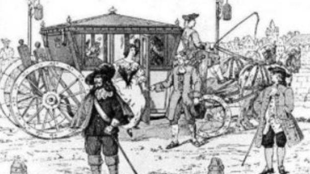 «Carrosse à cinq sols», Pionierin des Nahverkehrssystems