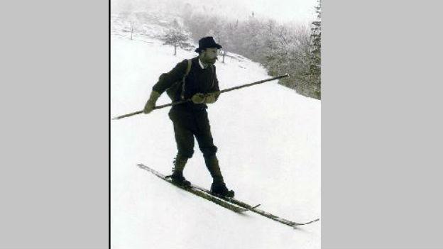 Er erfand den Slalomlauf: Mathias Starsky