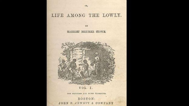 «Onkel Toms Hütte» (Ausschnitt des Titelbildes)