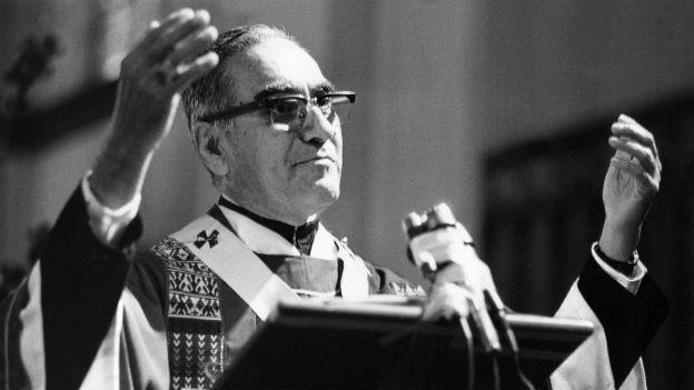 Der salvadorianische Erzbischof Oscar Romero.