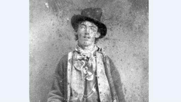 Billy the Kid, mehrfacher Mörder der Western-Zeit.