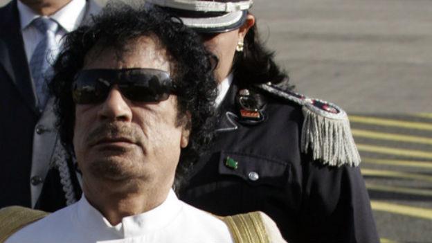 Muammar al-Gaddafi, Ziel des US-Bombenangriffs.