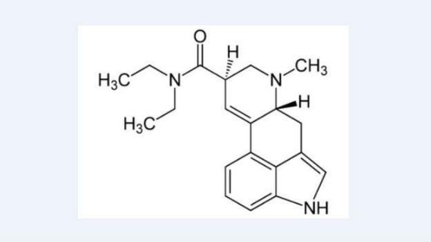 Formel von LSD: Der Stoff brachte vieles in Bewegung.