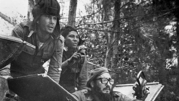 Schweinebuchtinvasion: Fidel Castro auf Erkundung