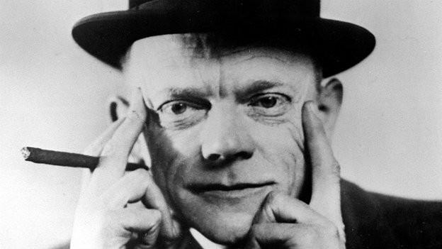 Der deutsche Kabarettist Karl Valentin