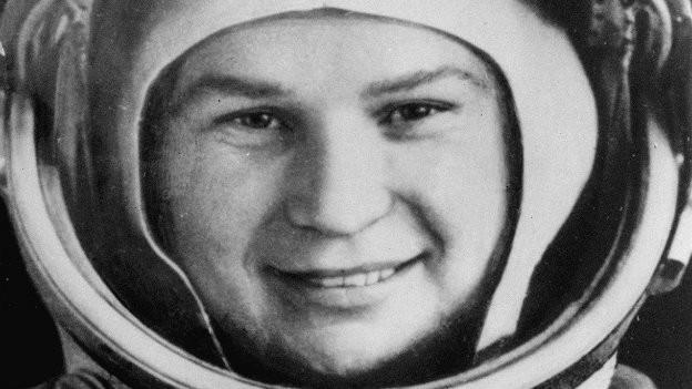 Die erste Frau im Weltall