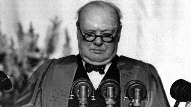 Winston Churchill, der Kriegspremier Grossbritanniens