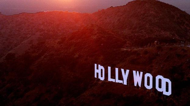 Zu sehen ist das berühmte «Hollywood-Zeichen» in Los Angeles.