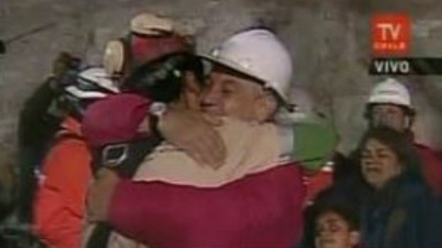 Fast drei Monate verschüttet: Minenkatastrophe, Chile