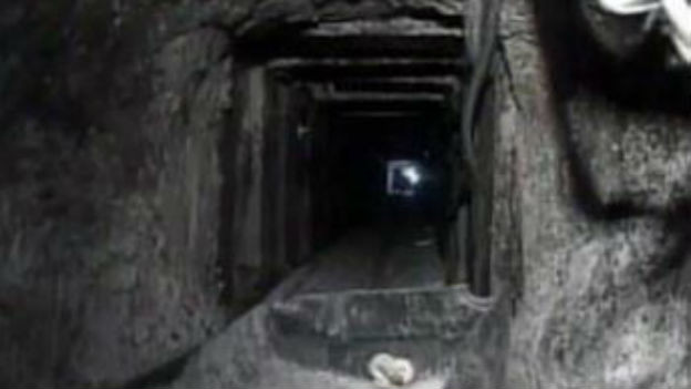Tunnel sei Dank: 3,5 Tonnen Bargeld als Beute