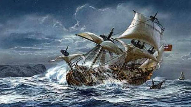 Noch auf der Jungfernfahrt gesunken: Schlachtschiff Vasa