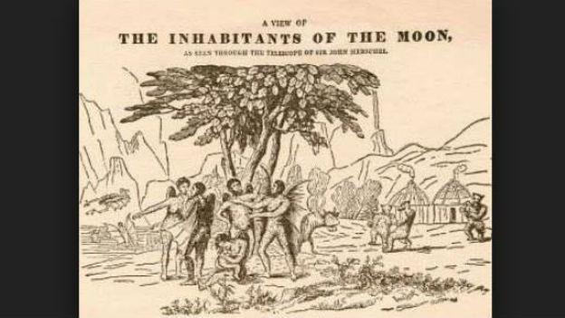 Mondmenschen, tatsächlich? The Great Moon Hoax