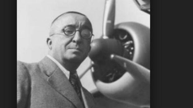 Er konstruierte das erste Düsenflugzeug: Ernst Heinkel