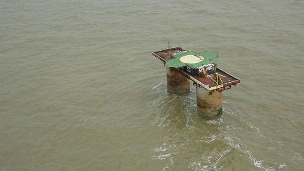 Souveränität für eine Plattform: «Sealand»