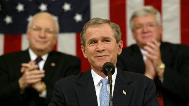 Bushs Rede zur Lage der Nation 2002