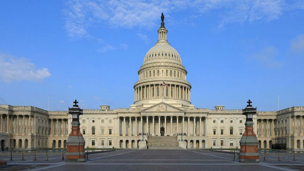 Das Capitol in Washington, Sitz des US-Parlaments