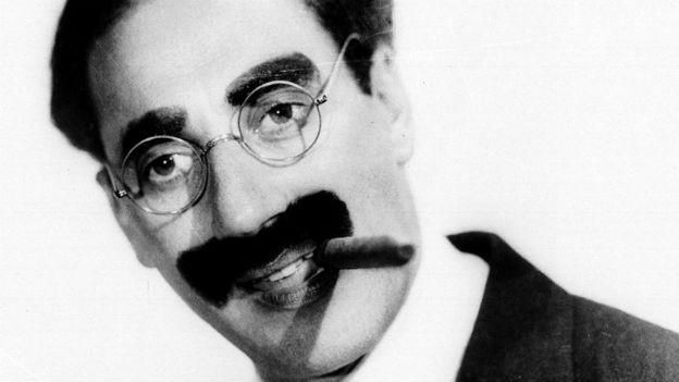 Einer der erfolgreichsten Komiker: Groucho Marx