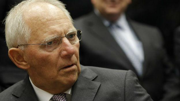 Dienstältester Abgeordneter: Finanzminister Schäuble