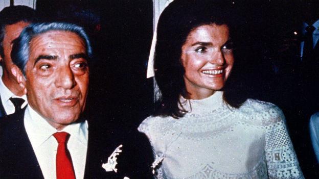 Reeder Onassis, neuer Ehemann der Kennedy-Witwe
