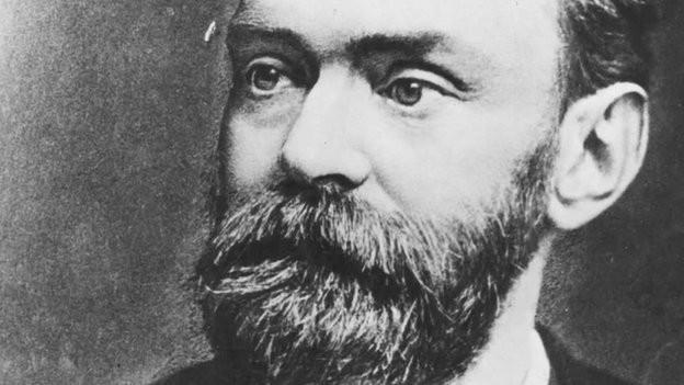 Der schwedische Chemiker und Erfinder Alfred Nobel
